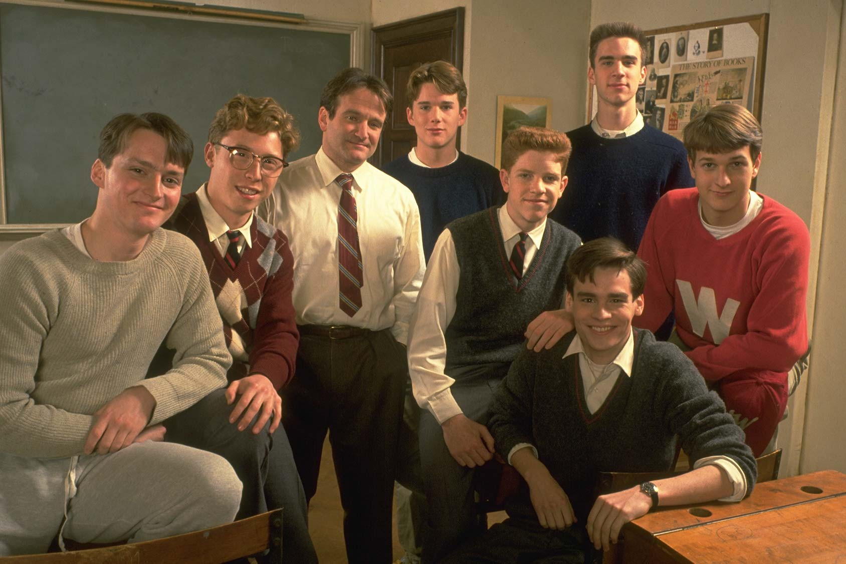 a comparison of mr keating and jesus in the film dead poets society Realism and romanticism in dead poets society john keating as a romantic character as the jewish scribes and pharisees wanted jesus dead so.