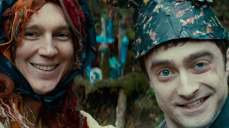 swiss army man selfie