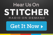 A link image to Stitcher Radio.